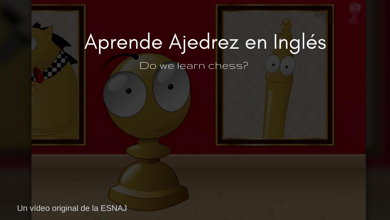 aprender ajedrez en inglés