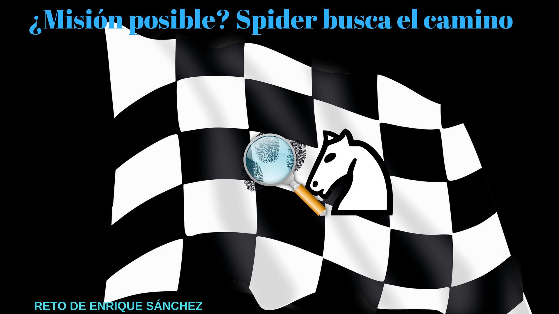 Spider busca el camino