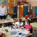 Leontxo García visita Ajedrez a la escuela